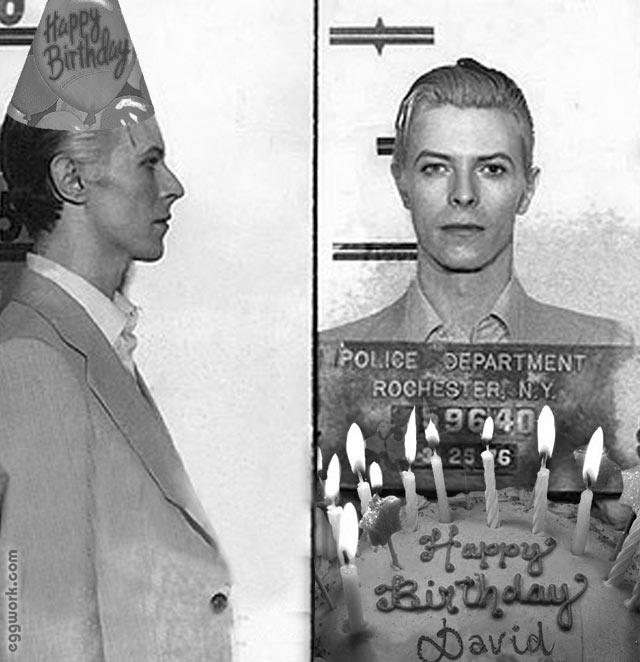 Bowie Birthday