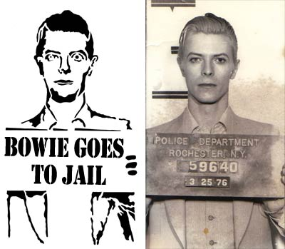Bowie Goes To Jail
