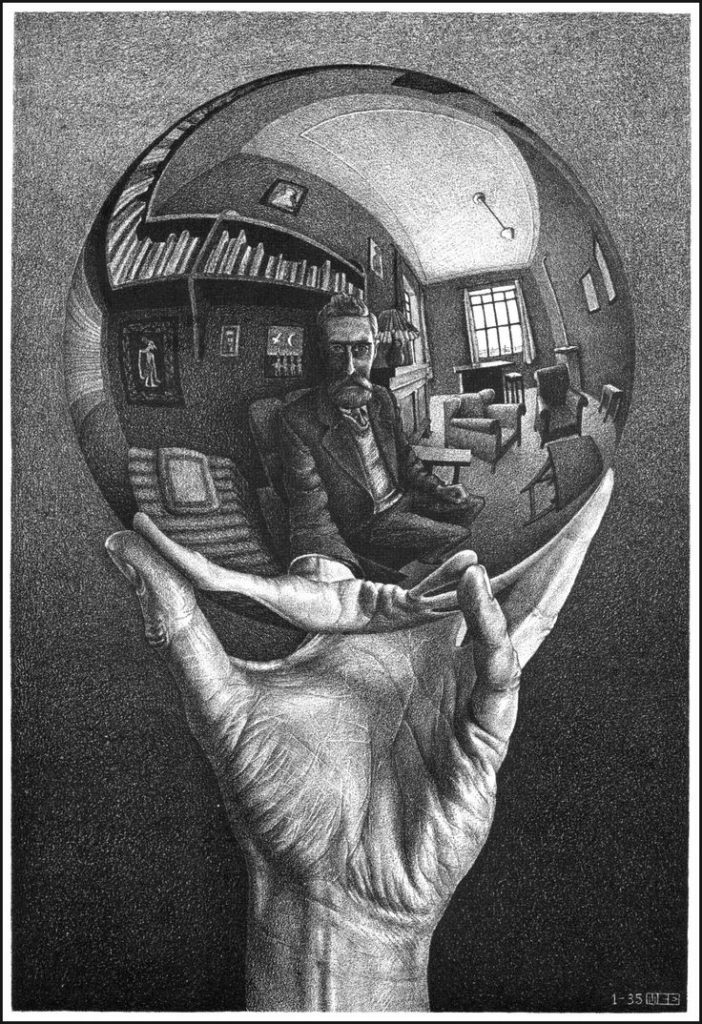 escher_selfportrait