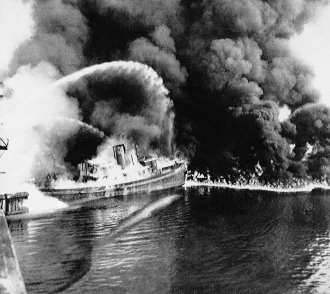 Cuyahoga River Fire - 1969