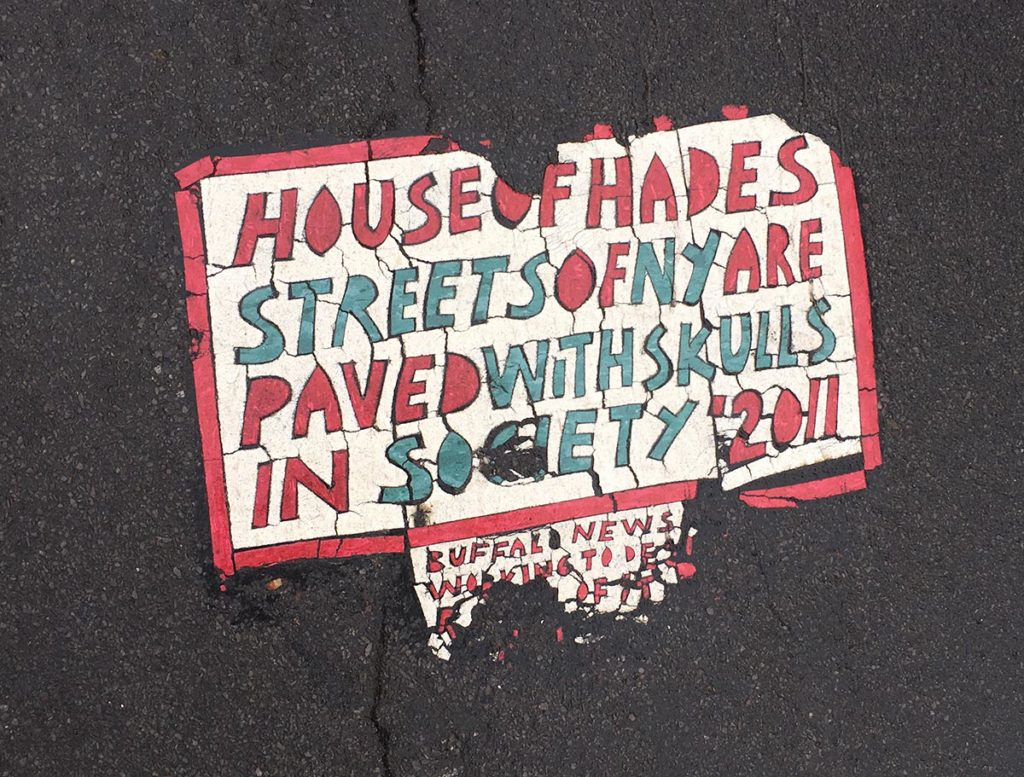 Toynbee Tile Rochester NY